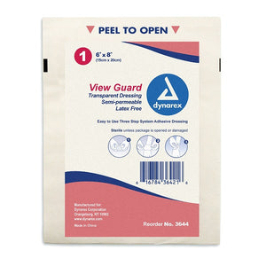 "Transparent Dressing 6""x8"" Sterile"