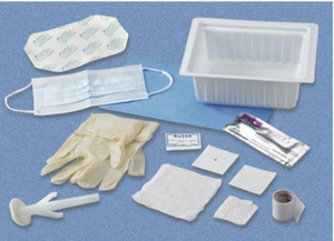Central Line Dressing Tray with Chloraprep