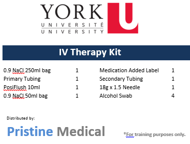 IV Therapy Kit - York University
