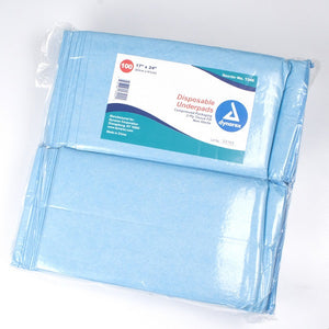 Disposable Underpads, 17x24 (22 gram)