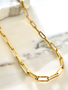 Gold Stainless Steel Necklace