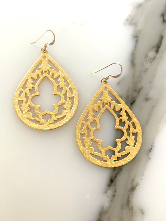 Merrakash Gold Earrings