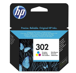 HP 302 Colour Ink Fitzgeralds_Homevalue_Euronics_Hardware_Dingle_Kerry