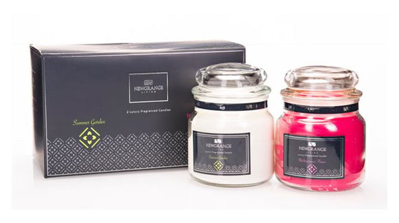 Newgrange Living Luxury Fragrance Medium Candle Jar - Set of 2