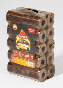 Flamers Shimada Heat Logs 10 Pack