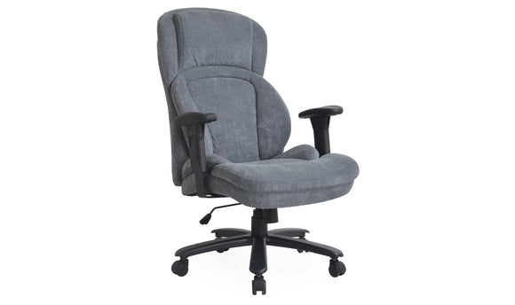 Chairman Office Chair Grey Fabric | OFF009