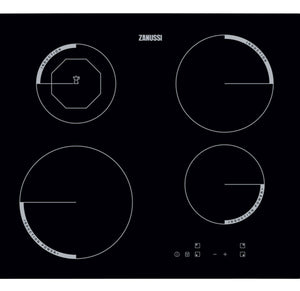 Zanussi Built-in Black Induction Hob | ZEI6840FBV {{ Fitzgeralds_Homevalue_Hardware_Dingle_Kerry}}