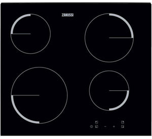 Zanussi Built-in Black Ceramic Hob | ZEV6240FBA {{ Fitzgeralds_Homevalue_Hardware_Dingle_Kerry}}