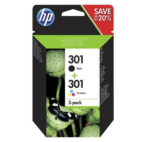 HP 301 Black & Colour Fitzgeralds_Homevalue_Euronics_Hardware_Dingle_Kerry