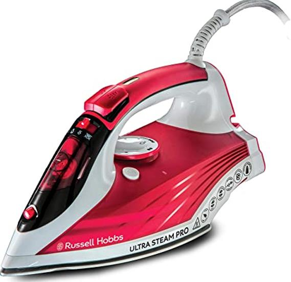 Russell Hobbs Ultra Steam Pro Iron | 23990 {{ Fitzgeralds_Homevalue_Hardware_Dingle_Kerry}}