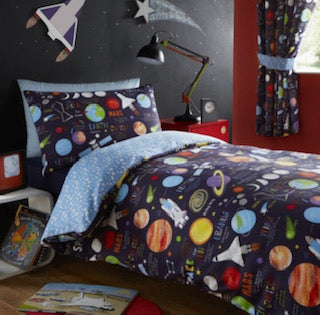 Planets Duvet Set & Curtains (sold separately)