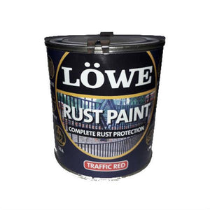 Lowe Rust Paint Red