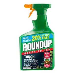 Roundup Weedkiller Gun RTU 1Ltr + 20% Extra Fill | 4105465 Fitzgeralds_Homevalue_Euronics_Hardware_Dingle_Kerry