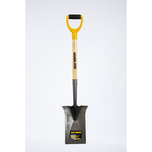 True Temper Digging Spade Wood D Handle | TTWDS Fitzgeralds_Homevalue_Euronics_Hardware_Dingle_Kerry