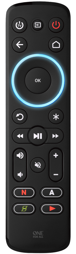 One For All Universal Streaming Remote Control Fitzgeralds_Homevalue_Euronics_Hardware_Dingle_Kerry