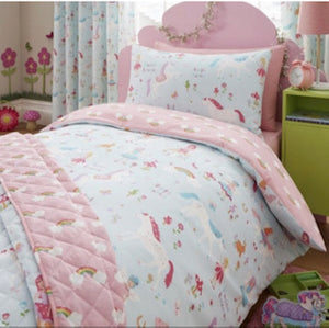 Unicorn Duvet & Curtains (sold separately)