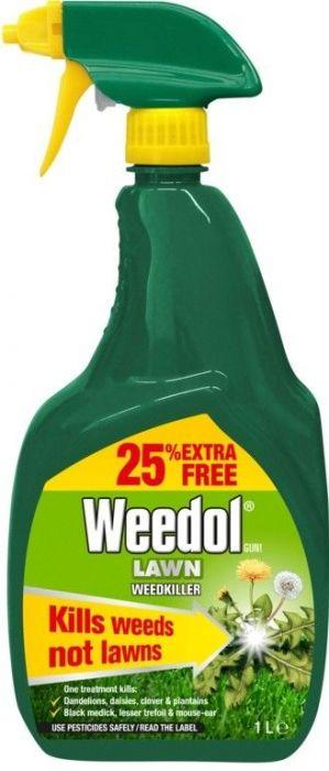 Weedol Lawn Weedkiller 1Ltr RTU | 720202 Fitzgeralds_Homevalue_Euronics_Hardware_Dingle_Kerry