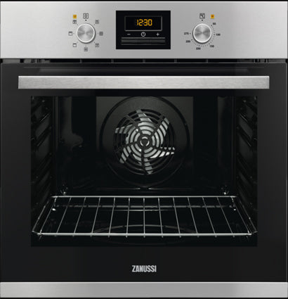 Zanussi Built-In Single Oven Stainless Steel | ZOB35471XK