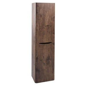 Bali Chestnut  Wall Mounted Storage Unit. (Tall Boy) Fitzgeralds_Homevalue_Euronics_Hardware_Dingle_Kerry