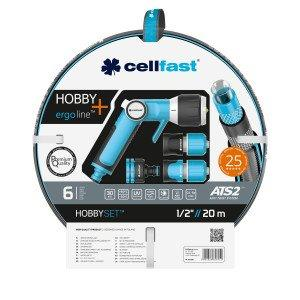 Cellfast Hobby Watering Set With Nozzles 1/2