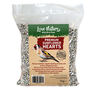 1kg Sunflower Hearts Bag