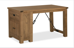 Chesapeake Oak Gathering Table & 4 High Chairs | G3856