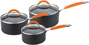 Joe Wicks 3 Piece Saucepan Set | 11658