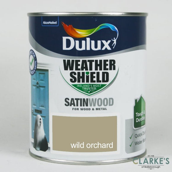 Dulux Exterior Satinwood Colours 750ml