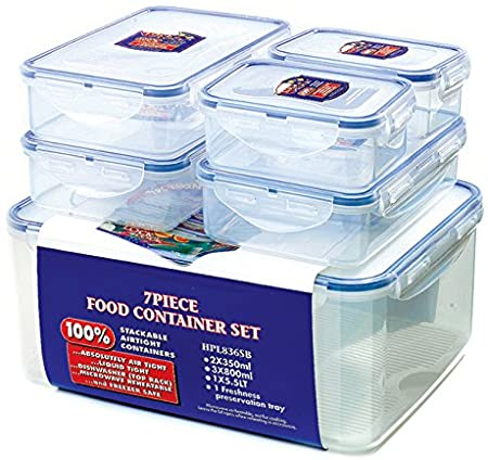Lock and Lock 5 Pce Container Set