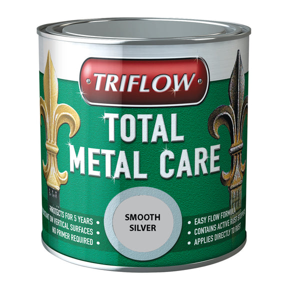 Triflow Metal Care For Gates & Railings Silver Smooth