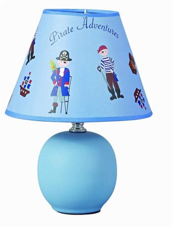 Pirate Boys Table Lamp