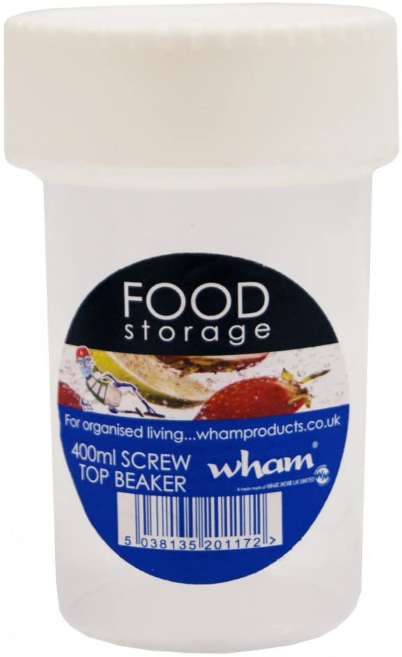 Wham Screw Top Beaker 350ml