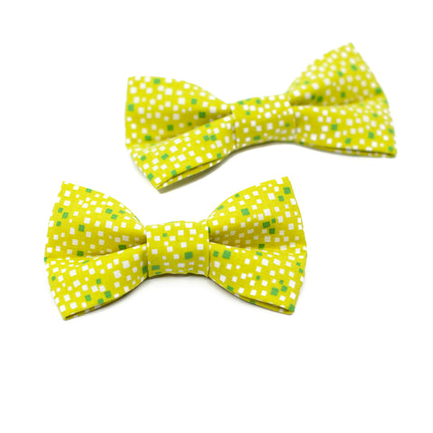 Chartreuse Bowtie for Puppy Dogs and Kitty Cats