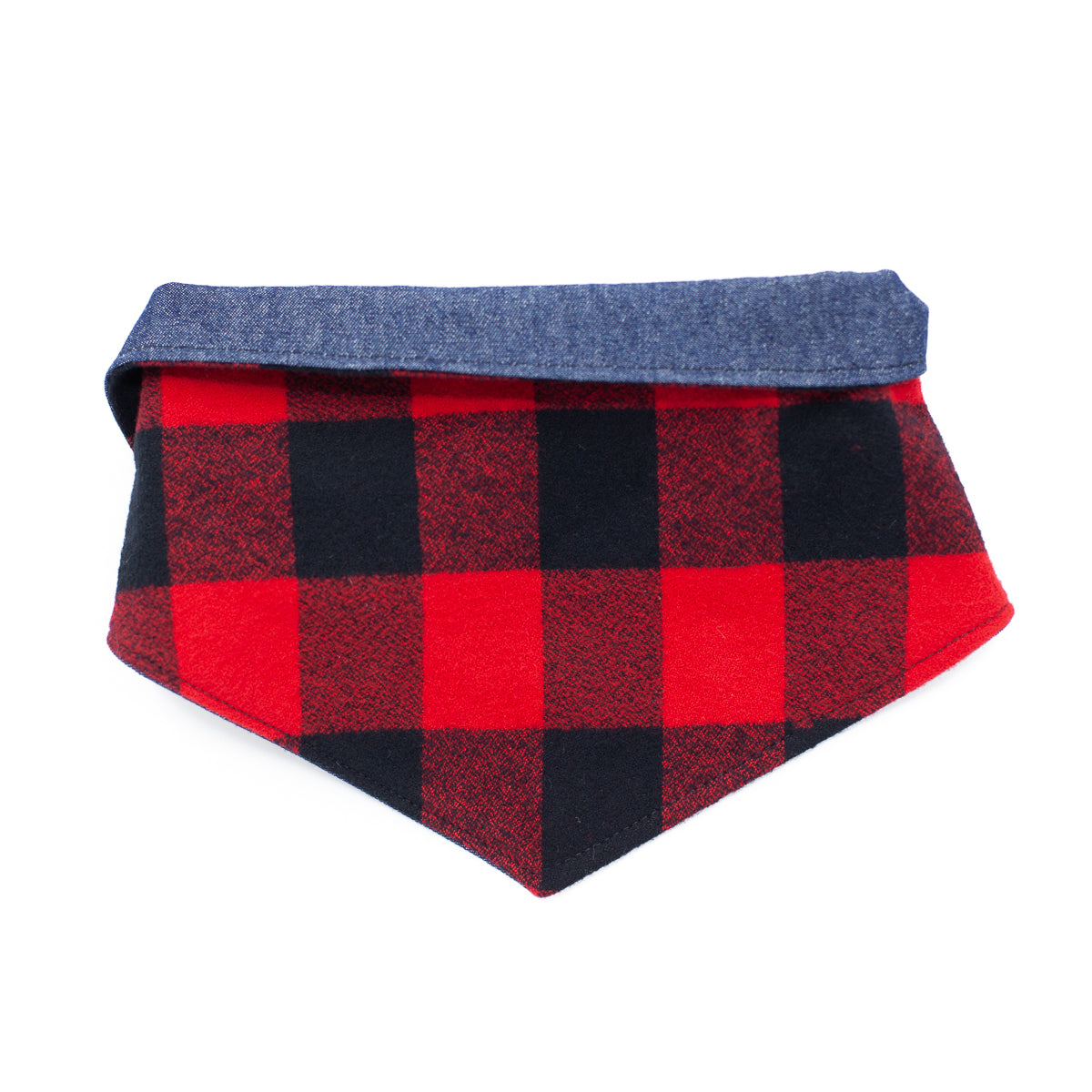 Buffalo Plaid Reversible Bandana