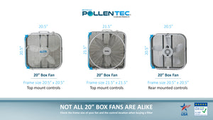 Fan Buddy – Box Fan Air Filter