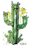 Crystal Cactus Design by Yeah Right