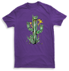 Crystal Cactus Mens Purple Tshirt by Yeah Right