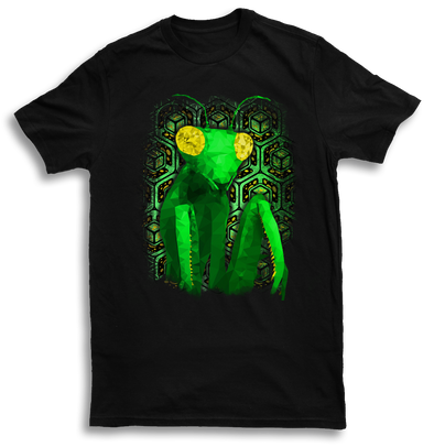 Mens Geo Mantis T Shirt by Yeah Right