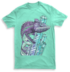 Mens mint karma chameleon tshirt by Yeah Right