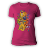 Ladies Pyramid Raspberry T Shirt