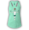 Summer-man Ladies Mint Tanktop by Griffin Cook