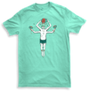 Summer-man Mens Mint Tshirt by Griffin Cook
