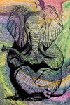 Zen Elephant poster Design by Yeah Right swirl