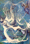 Zen Elephant poster Design by Yeah Right