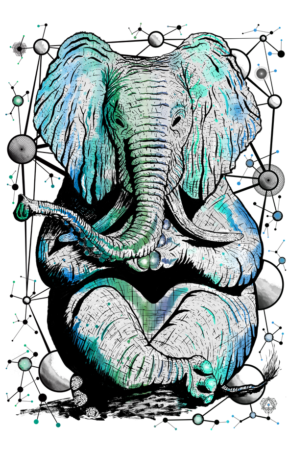 Zen Elephant Design by Yeah Right