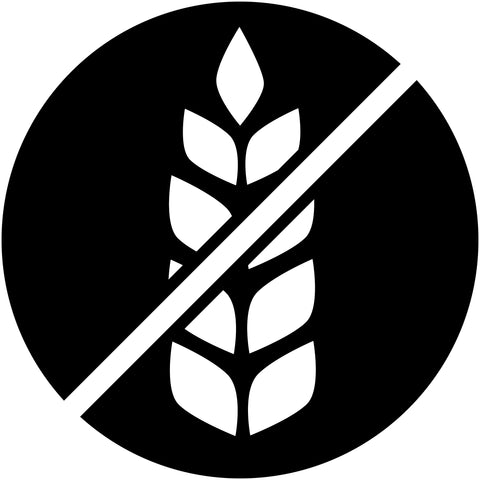 Icon indicating no gluten