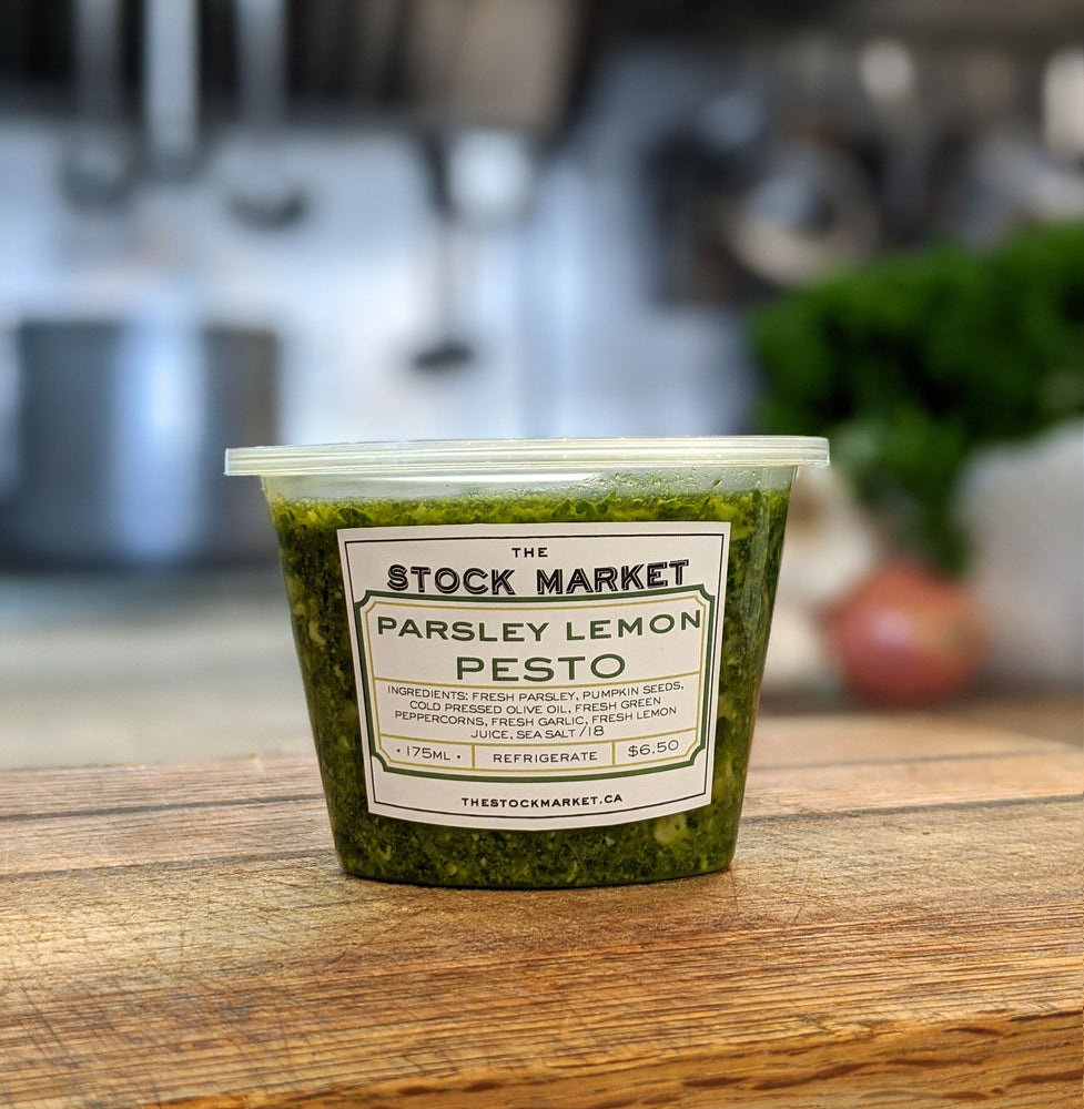 Parsley Lemon Pesto