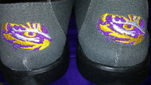 Load image into Gallery viewer, LSU Slip On Canvas-Grey
