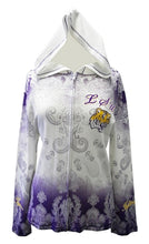 Load image into Gallery viewer, LSU P Michaels Dip Dye Hoodie Plus Size