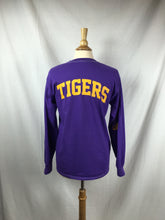 Load image into Gallery viewer, TIGERS Purple L/S Tee